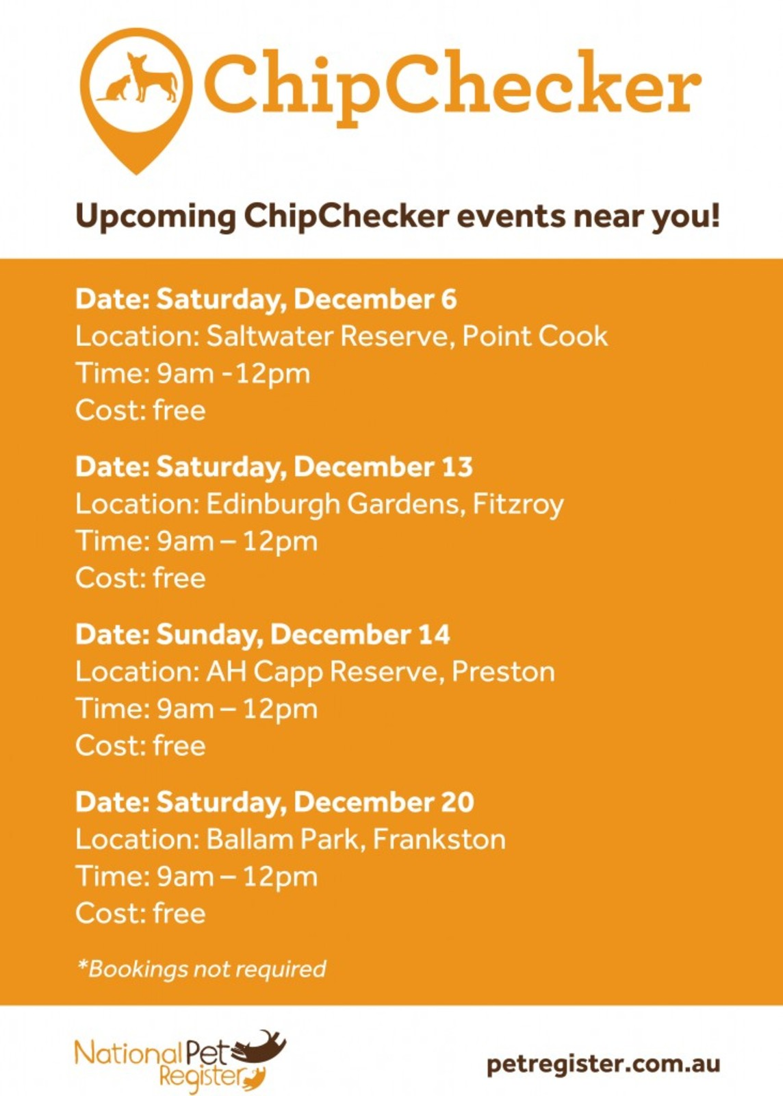 2014_National Pet ID Month_ChipChecker Dates2